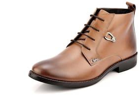 Lee Cooper Men's Tan Ankle Boots
