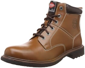 Lee Cooper Men's Brown Outdoor Boots