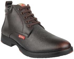 Lee Cooper Men's Brown Ankle Boots