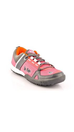 Lee Cooper Pink Fabric Casual Shoes