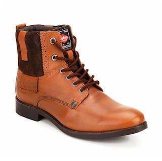 241b3b9843b Buy Lee Cooper Tan Dress Boot Online at Low Prices in India ...