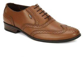 Lee Cooper Men Tan Formal Shoes