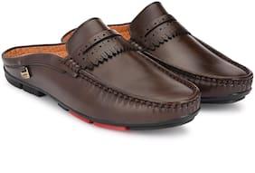 Leoncino Men Brown Shoe-Style Sandals