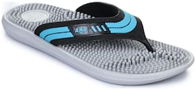Liberty A-HA Men Grey Outdoor Slippers - Accuplus-1