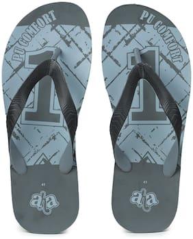 Liberty Men Grey Indoor Slippers - 1 Pair