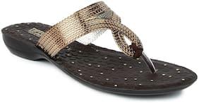 Liberty A-HA Women Brown Slippers