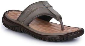 Liberty Men Grey Outdoor Slippers