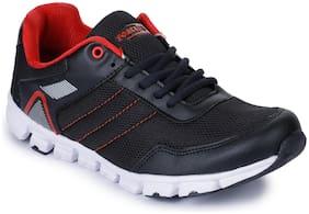 Liberty Men FLEX-2E_BLACK Running Shoes ( Black )