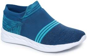 ELOISE-1E_T.BLUE Walking Shoes For Men ( Blue )