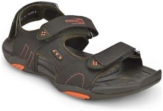 Liberty Men Green Sports Sandals