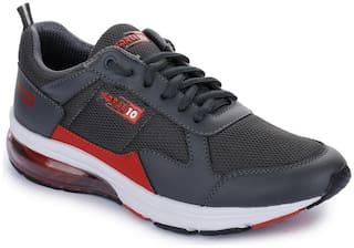 Liberty Men Running Shoes ( Grey )