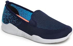 Liberty Women Navy Blue Slip-On Shoes