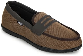 Liberty Men Brown Casual Shoes - EXCITOR118_D.BROWN