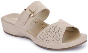 Liberty (Healers) HDN4-60_BEIGE Flats & Sandals For Women