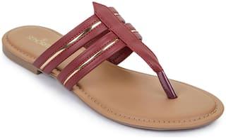 Liberty ( Senorita ) CHE-18E_RED Casual Flip Flop for Women