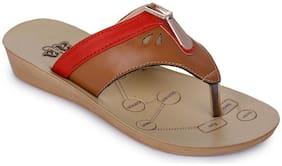 Liberty Women Tan Slippers