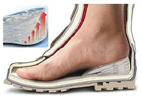 Lifestyle-You Btall 2Inch Height Increasing Gel Insoles For Shoes