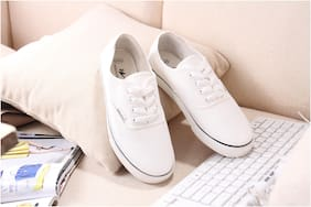 Enso Imported Men's White Sneakers Shoes