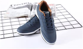 Enso Imported Men's Blue Sneakers Shoes