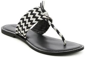 London Rag Women Black Sandals