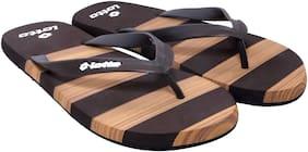 Lotto Men Brown Flip-Flops - 1 Pair