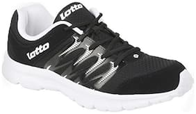 Lotto Men's Adriano Black Running Shoes