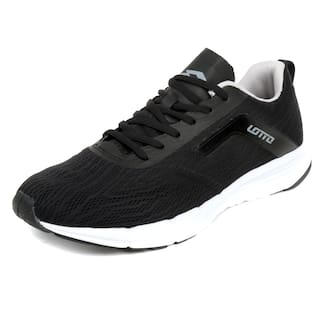 Lotto Men Black Running Shoes - S8l4901-010