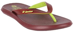 Lotto Men Brown Flipflop