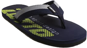 Lotto Men Navy blue & Yellow Outdoor slippers