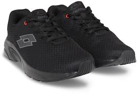 Lotto Men Run Pro Black Running Shoes