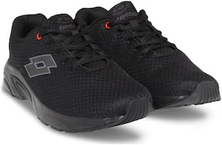 LOTTO MEN RUN PRO BLACK Shoes 6