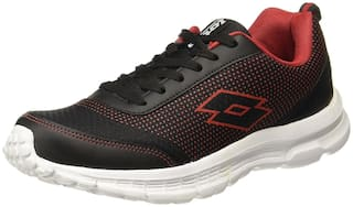 Lotto Men's Splash Black/Red Running Shoes-7 UK/India (41 EU)(AR4697-060)