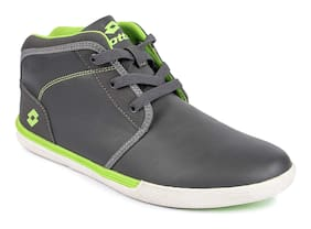 Lotto Men Grey Sneakers