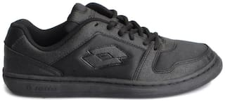 Lotto Men's Ace Black Running Shoes
