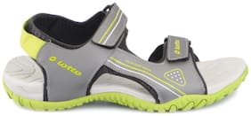 Lotto Men's Refer D. Grey Green Sandals Floaters