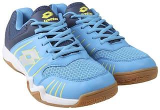 Lotto Tennis Shoes For Men ( Blue )