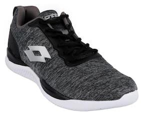 Lotto Men Black Running Shoes