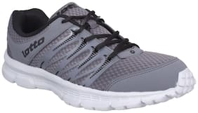 Lotto Men's Adriano Grey Running Shoes