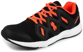 Lotto Men's Sleek Black Running Shoes