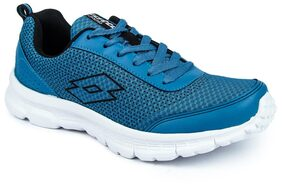 Lotto Men's Splash Blue & Black Running Shoes