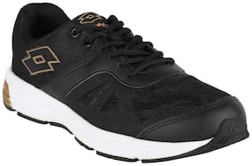 Lotto Men's Highrun Black Running Shoes