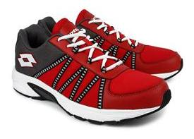Lotto Men's Redon Red Running Shoes