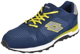 Lotto Men Navy Blue Walking Shoes