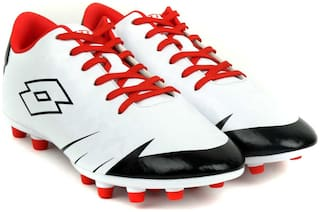 Lotto Men LZG X 700 FGT Football Shoes ( White )