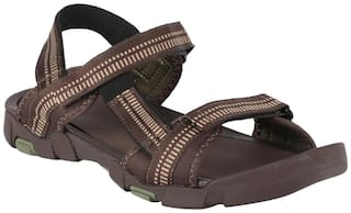 Lotto Men Brown Floaters -