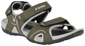 Lotto Men Green Sandals & Floaters
