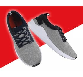 Lotto Men Walking Shoes ( Grey )