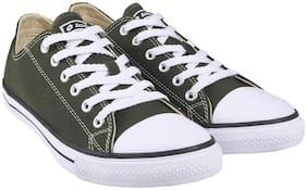 Men Green Classic Sneakers