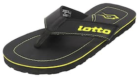Lotto Men Black Flipflop