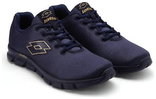 Lotto Men VERTIGO Running Shoes ( Navy Blue )